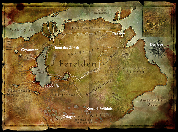 Dragon Age Origins Ferelden